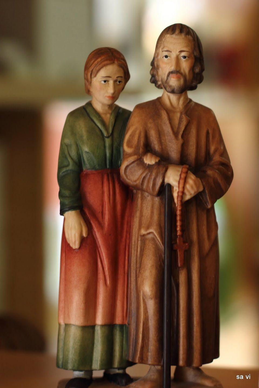 Nikolaus von der Fluee und Dorothea