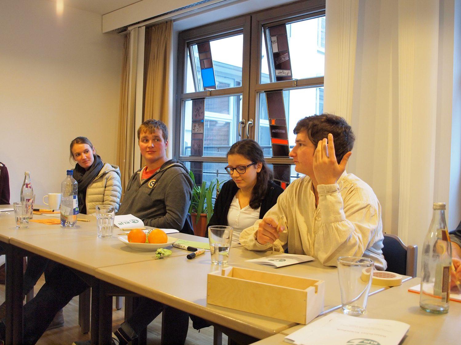Reger Austausch beim Treffen der Kreisrunde der KLJB Augsburg