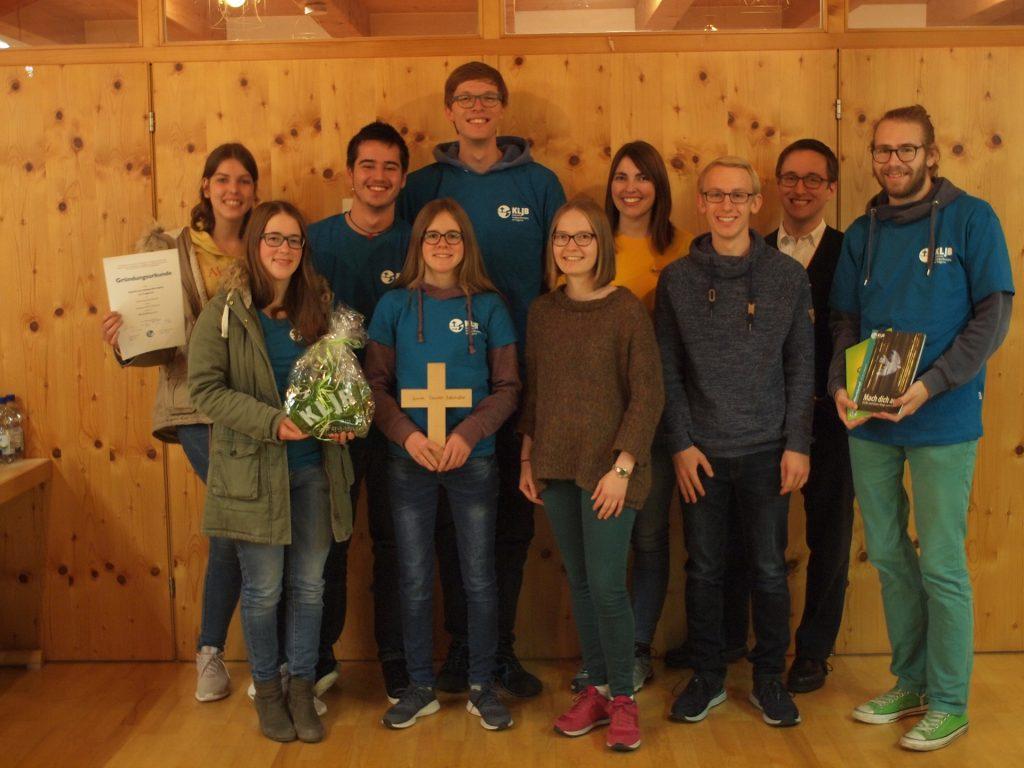 Der Vorstand der KLJB am Forggensee mit KLJB Vertretern der Diözesan- und Kreisebene.