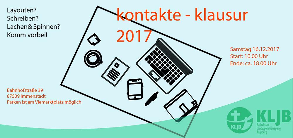 kontakte-Klausur 2017