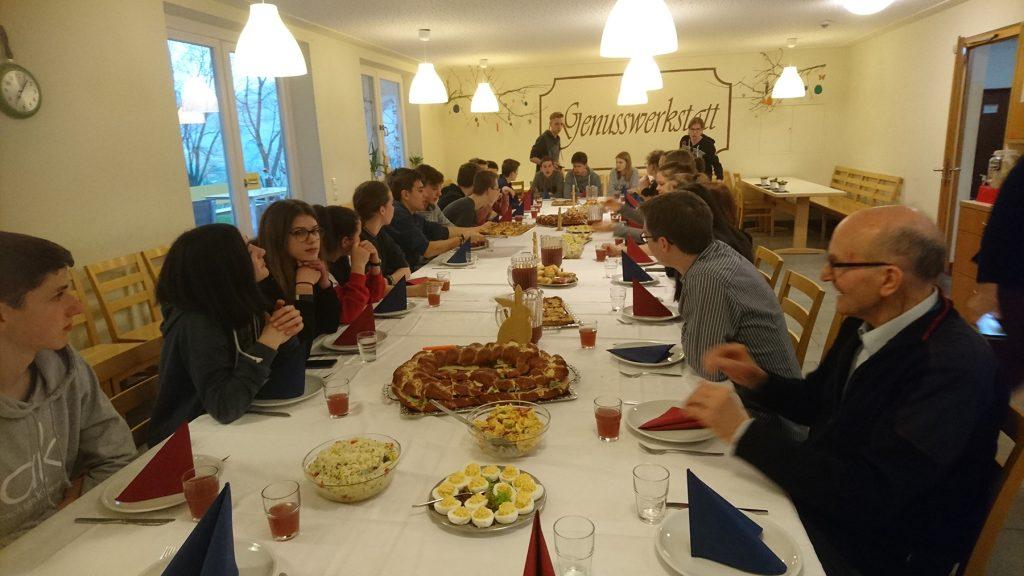 Das letzte gemeinsame Abendmahl