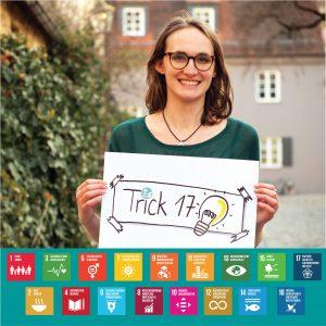 Tamara präsentiert Trick 17