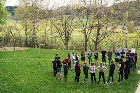 Der Spiel- und Spaßfaktor einer Gruppenstunde wurde den angehenden Gruppenleiter vermittelt.