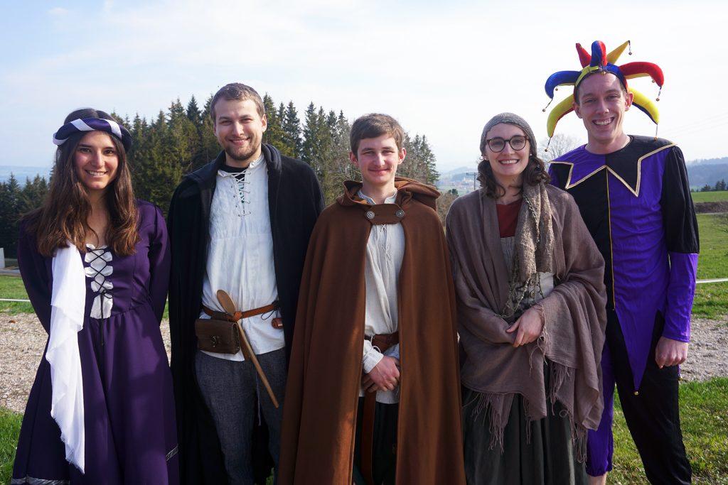 Gerne gesehene Gäste: Die Verterter*innen der Ritter der Kreisrunde.