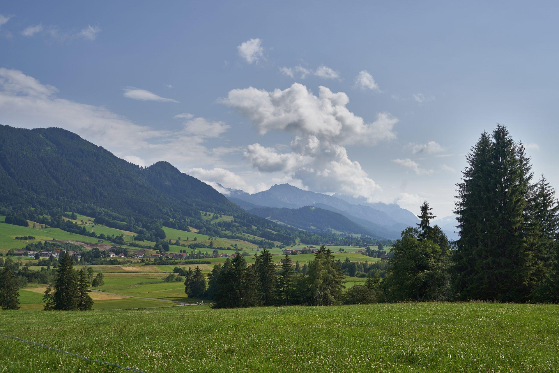 Pilgern Panoramablick