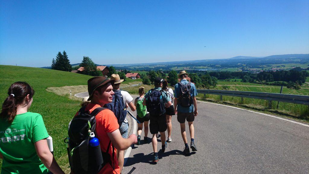 Rückweg zum Kienberg
