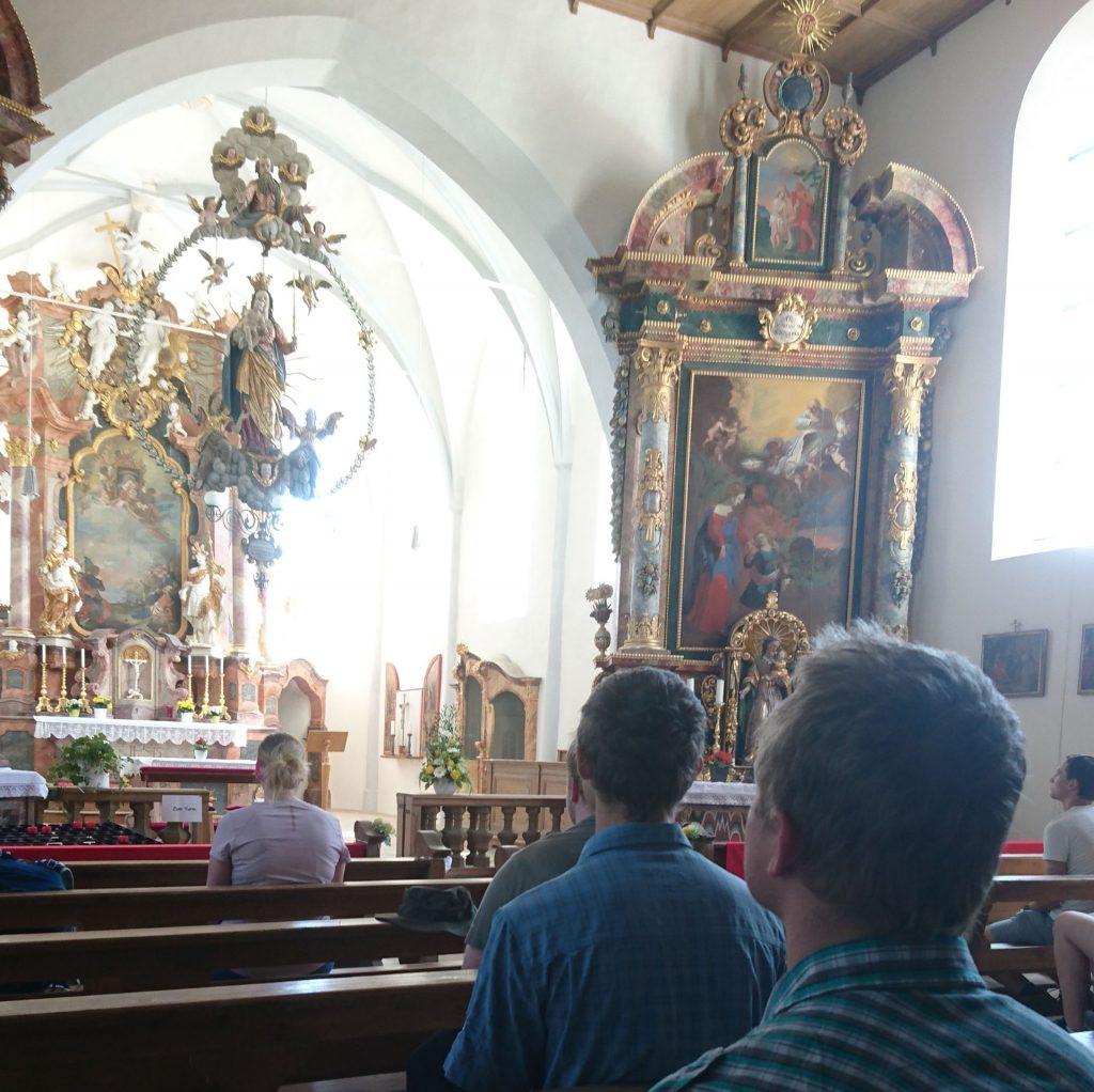 Ein paar ruhige Augenblicke in St. Georg
