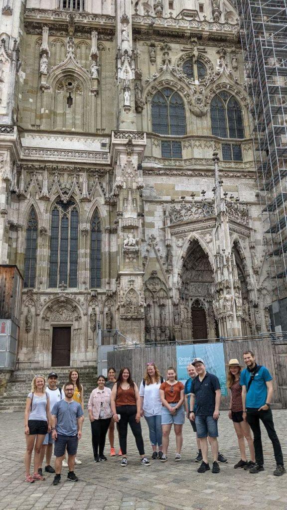 Besichtiung des Regensburger Doms St. Peter